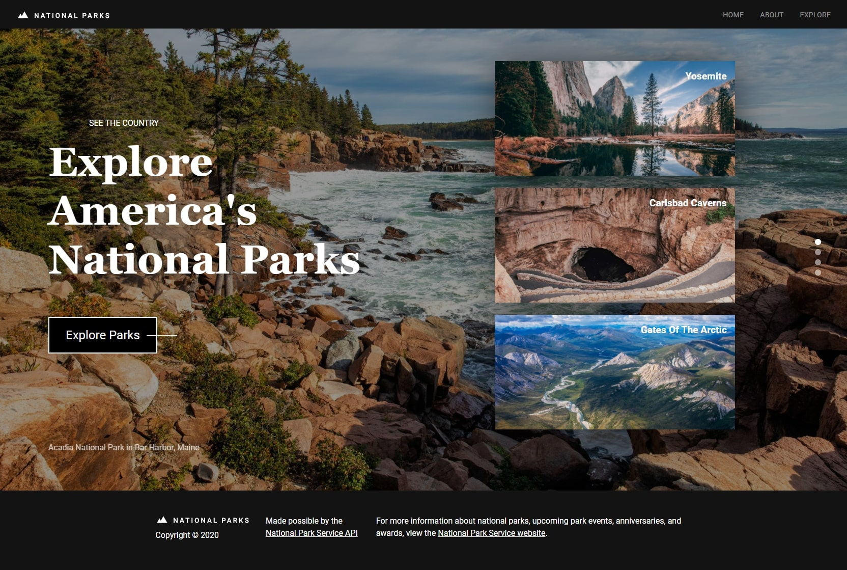 National Parks - Home