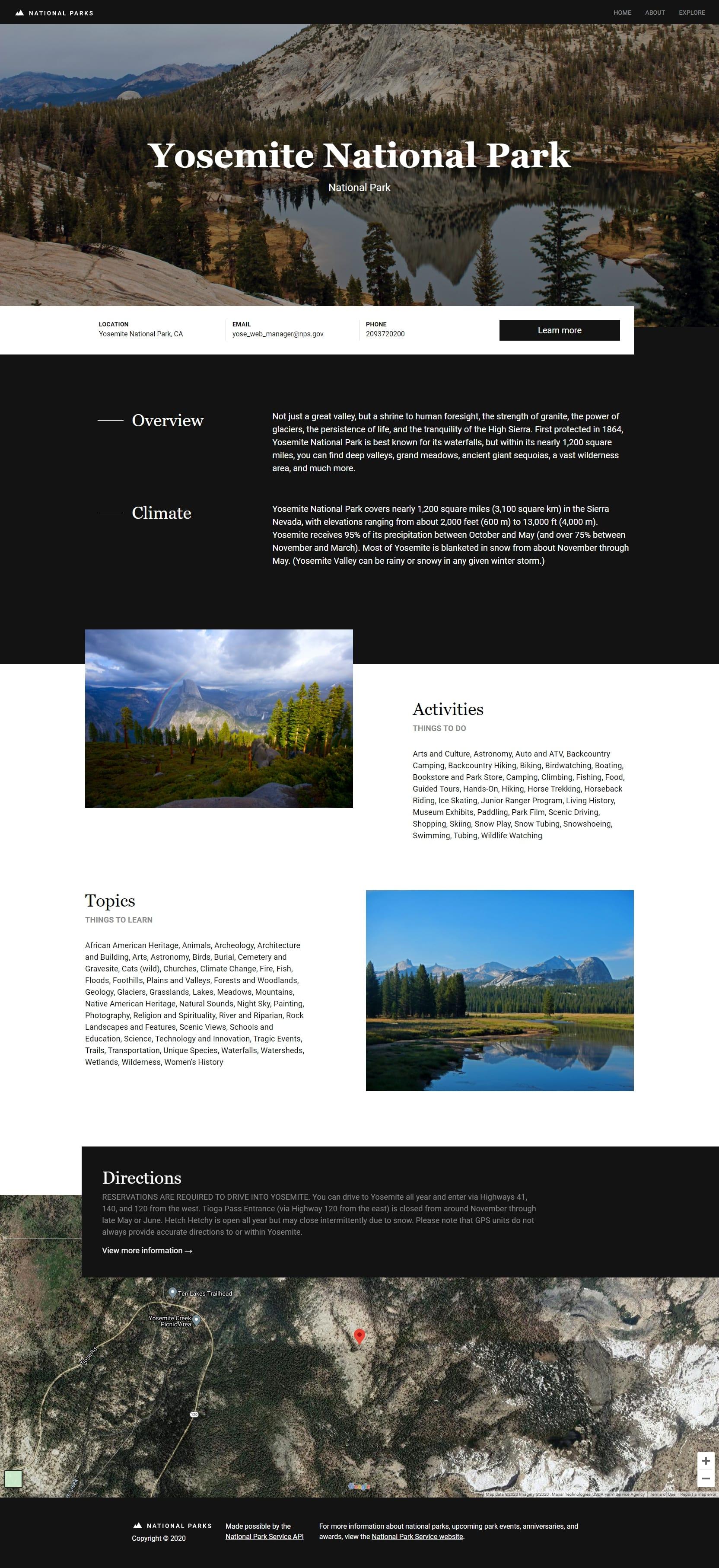 National Parks - Yosemite
